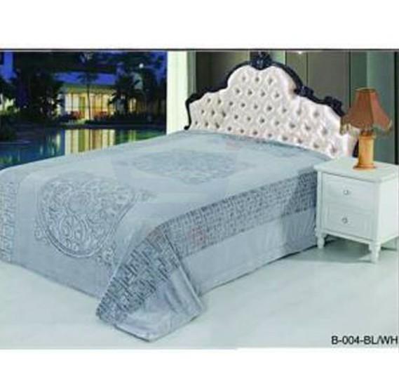 Senoures Classic Blanket Double 220X240CM - B-004 Black/White