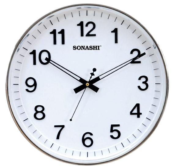 Sonashi Wall Clock White,  SWC-809