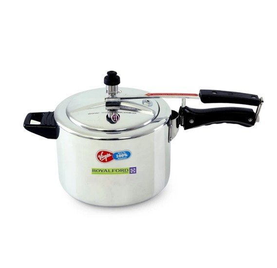 Royalford Aluminium Pressure Cooker Inner Lid (5 litre) , RF6541