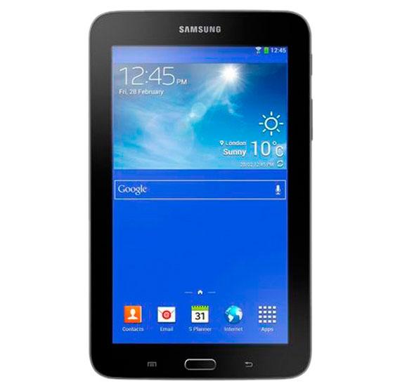 Samsung Galaxy Tab 3 Lite SM T113, 7 Inch Tablet, 3G, Android, 8GB Storage, 1GBRAM, Quad-core 1.3 GHz, Camera, WiFi.(BLACK)
