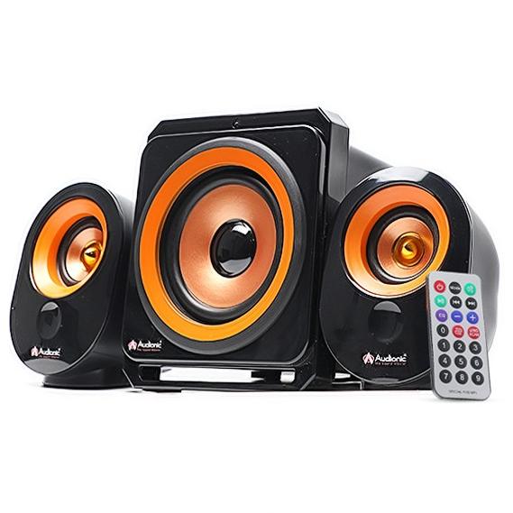 Audionic MAX-220 2.1 Channel Bluetooth Speaker, Black