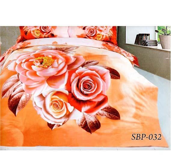 Senoures 3D 100% Polyster Quilt Cover 4Pcs Set King - SBP-032