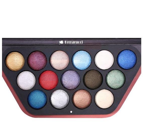 Ferrarucci 15 Color Eye Shadow 110g, 02