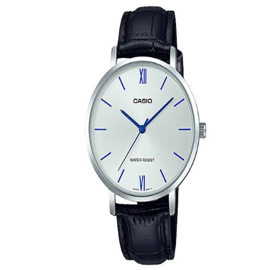 Casio Leather Band Strap Watch For Women, LTP-VT01L-7B1UDF