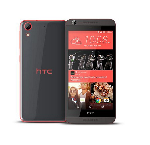 HTC Desire 626 Smartphone 4G Android 4.4,1GB Ram 16 GB Storage 5 Inch Display, Red Black