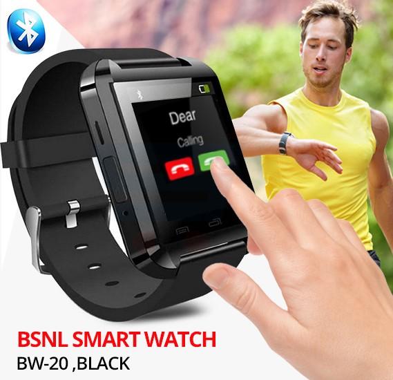 BSNL BW-20 Smart Watch, Black