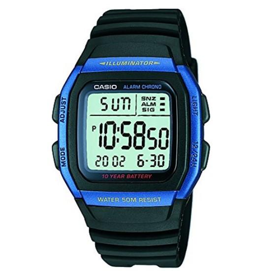 Casio W-96H-2AVDF  Digital Grey Dial  Watch For Men