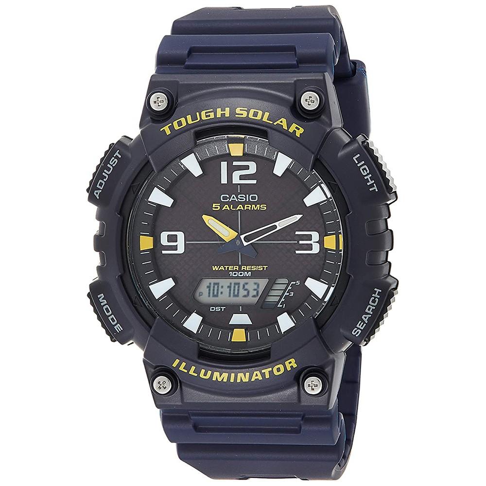 Casio Youth Analog Digital Blue Dial Mens Watch, AQ-S810W-2AVDF