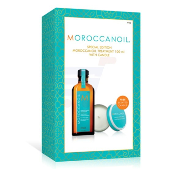 Moroccanoil Treatment With Candle 100ML