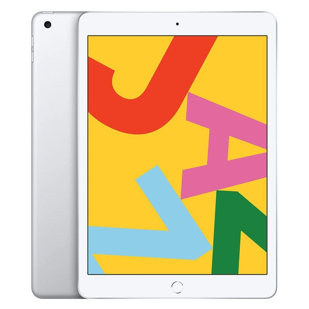 Apple iPad 7 10.2 inch 2019 7th Gen Wi-Fi, 128GB With Facetime -Silver