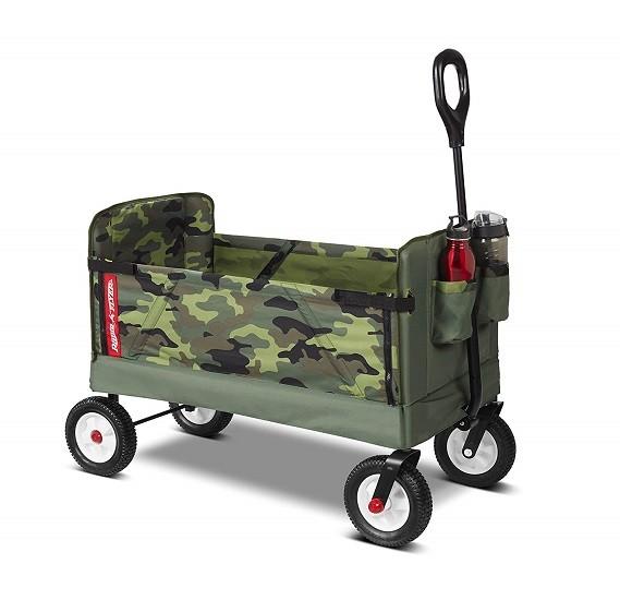 Radio Flyer 3-In-1 Off-Road EZ Fold Camo Wagon