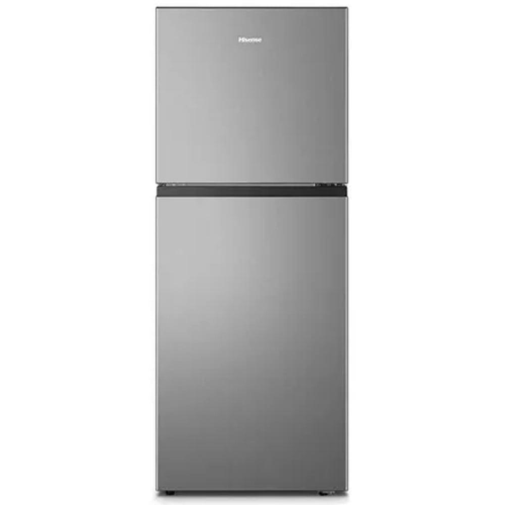 Hisense Double Door Refrigerator 264L RT264N4DGN, Silver