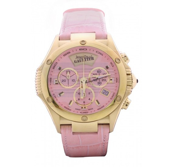 Jean Paul Gaultier Swiss Made  Women Pink Watch - JPG0103004