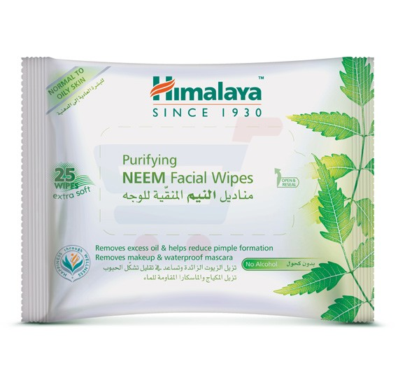 Himalaya Herbals Purifying Neem Facial Wipes - NHS0451