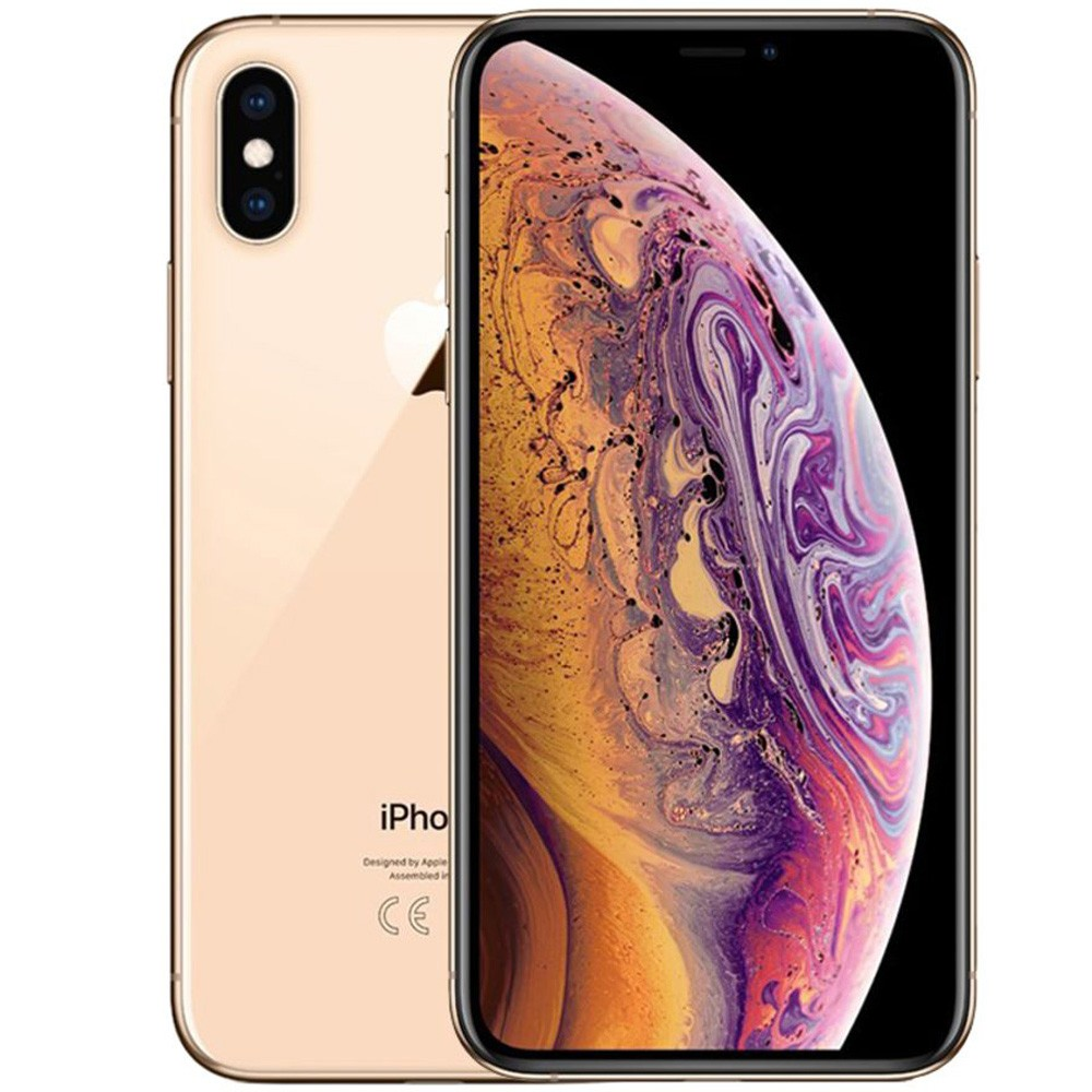 Apple iPhone Xs Max Dual SIM, 4GB RAM 512GB, 4G LTE, Gold