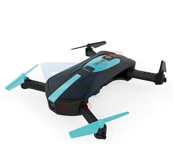 Mini Foldable Pocket Selfie Drone With Wifi FPV Camera Quadcopter JY018