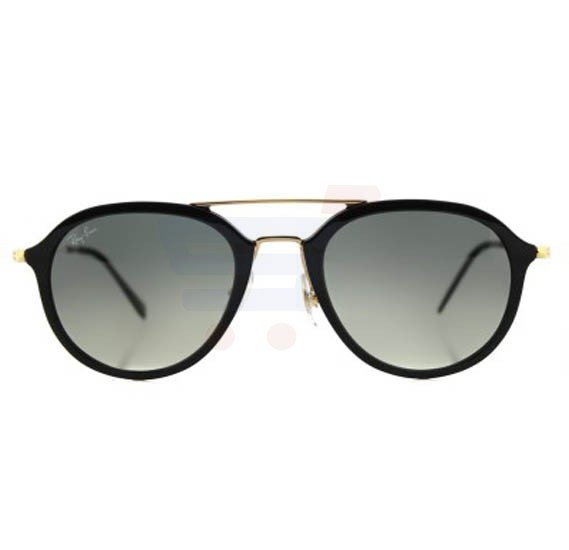 d1a0b0009eb9a Buy Ray-Ban Aviator Black Frame   Gradient Mirrored Sunglasses For Unisex -  RB4253-601-71-53 Online Dubai