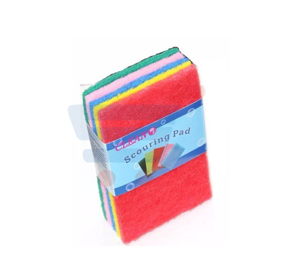 Clean Scouring Pad 5 Pieces Set, CL-2253