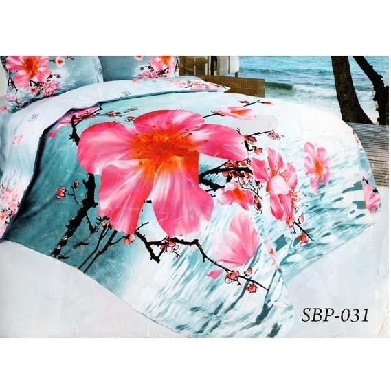 Senoures 3D 100% Polyster Quilt Cover 4Pcs Set King - SBP-031