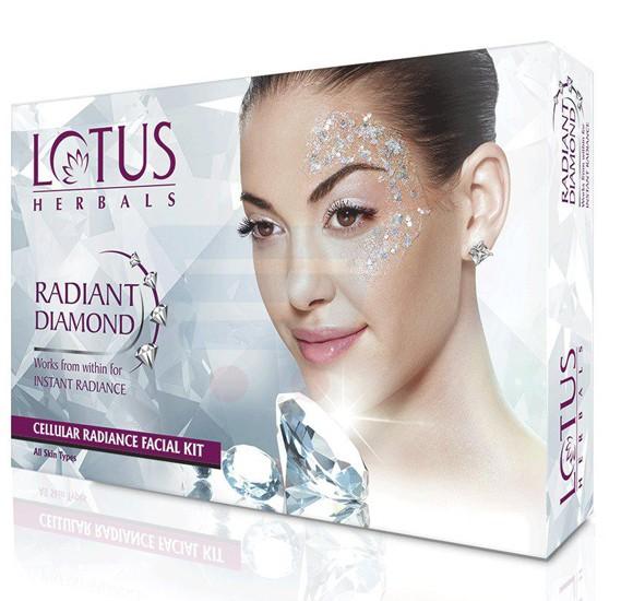 Lotus Radiant Diamond Cellular Radiance 1 Facial Kit