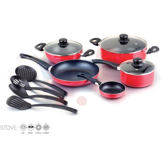 Royalford 12Pc Earnest Nonstick Cookware Set - RF8247