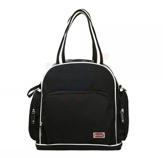 Sunveno Signature Maternity Diaper Bag Black