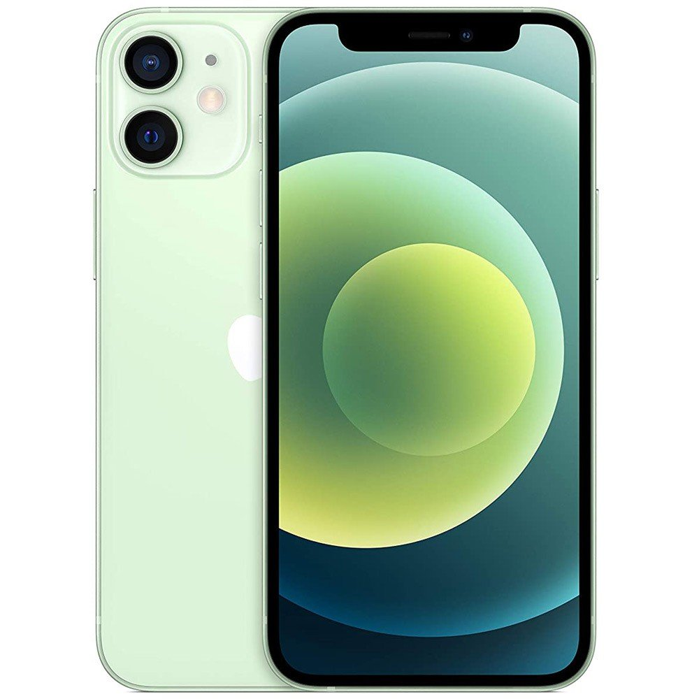 Apple iPhone 12 Mini With FaceTime Green, 64GB Storage, 5G