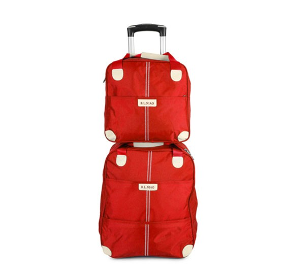 Okko 2 in 1 Luggage Bag Red
