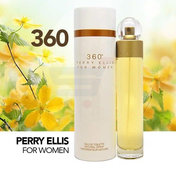 360 Perry Ellis Edt 100ml Spray For Women
