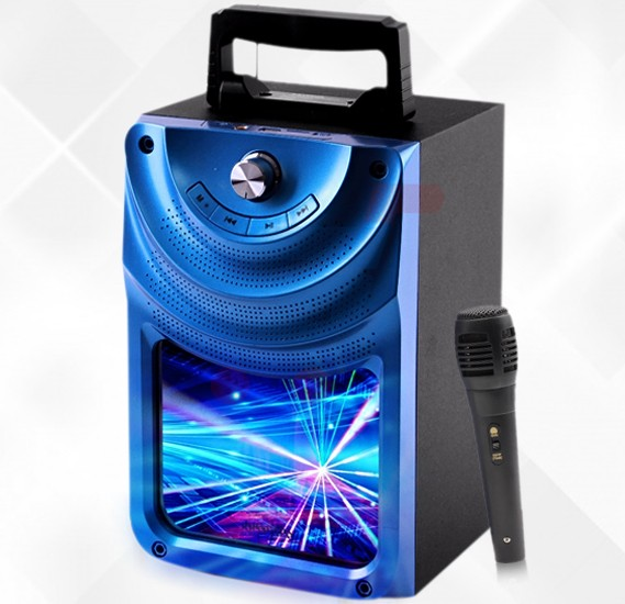 Krypton Rechargeable Bluetooth Speaker, with Mic KNMS5070
