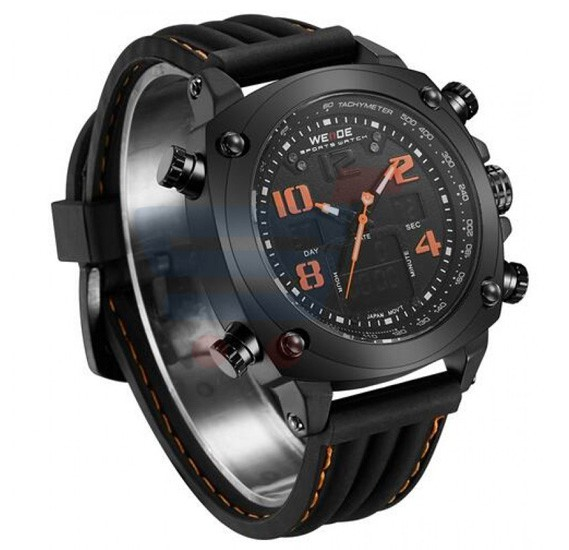 Weide Luxury Brand Men Sports Watch - 5208