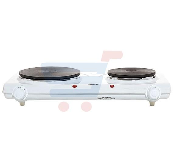 Saachi Electric Twin Hotplate ‐ HP‐6207