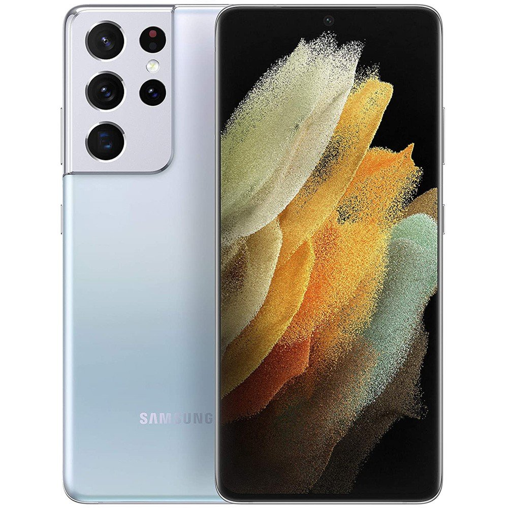 Samsung Galaxy S21 Ultra Dual SIM, 12GB RAM 256GB, 5G, Phantom Silver