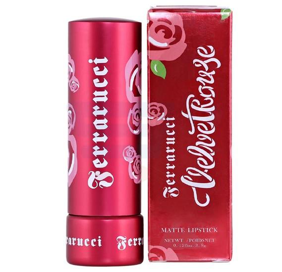 Ferrarucci Velvet Rouge Lipstick 3.8g, Arcada Red