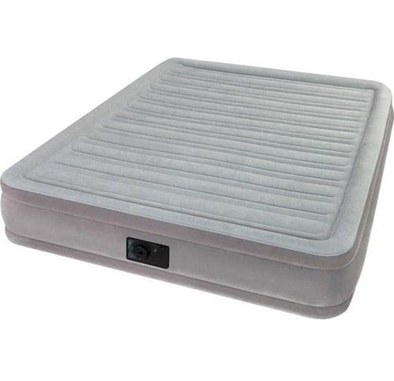 Intex-Queen comfort-plush elevated airbed (w/220-240v bulit-in pump) ,64414