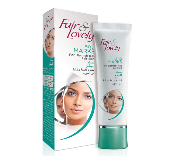 Fair & Lovely Anti Marks Fairness Cream Women, 100gm