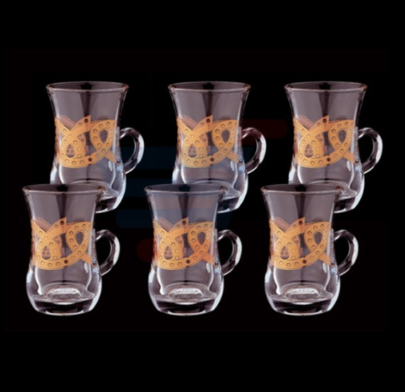 Royalford 6 Pcs Liwa Royal Istikana 4oz - RF7940
