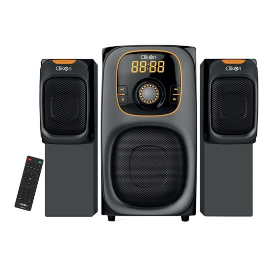 Clikon 2.1 Multimedia Speaker CK2243-N