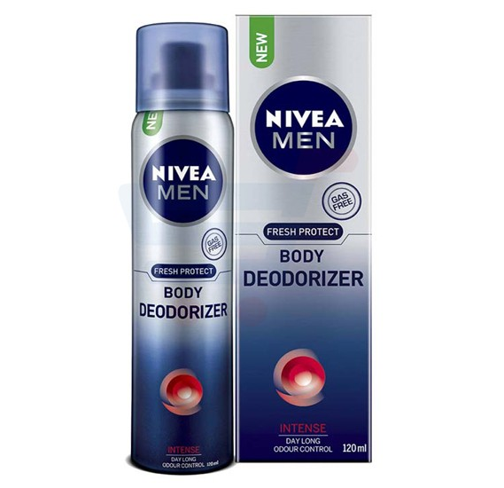 NIVEA Deodorizer Intense Spray For Men 120 ML