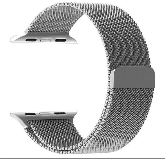 Promate Milanese Loop 38mm/40mm Apple Watch Strap, MILOUS-38.SILVER