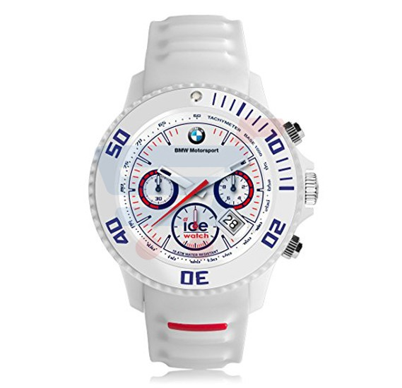 Ice Watch BMW Womens White Band Watch - BM.SI.WE.S.S.13