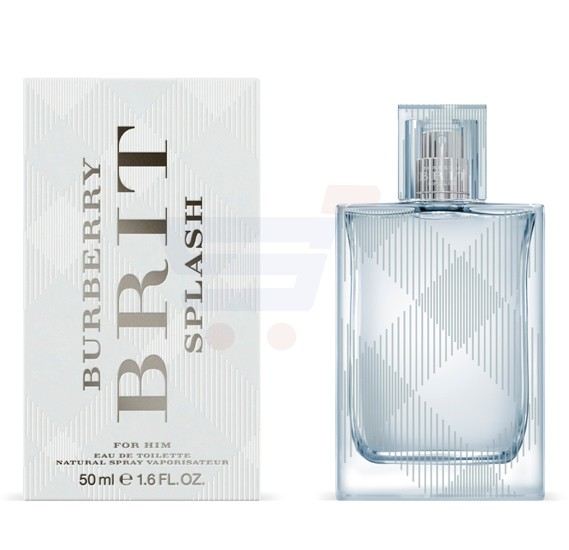 Burberry Brit Splash EDT 50ml For Men