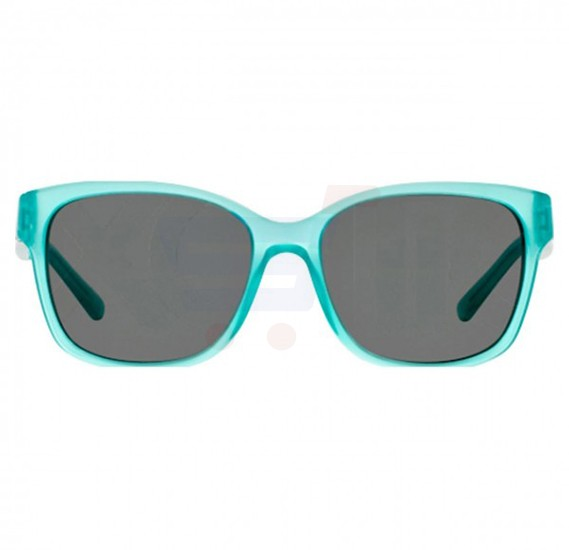 DKNY Wayfarer Turquoise Frame & Black Mirrored Sunglasses For Women - DY4096368387