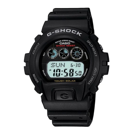 Casio GShock Digital Black Dial Mens Watch, G-6900-1DR