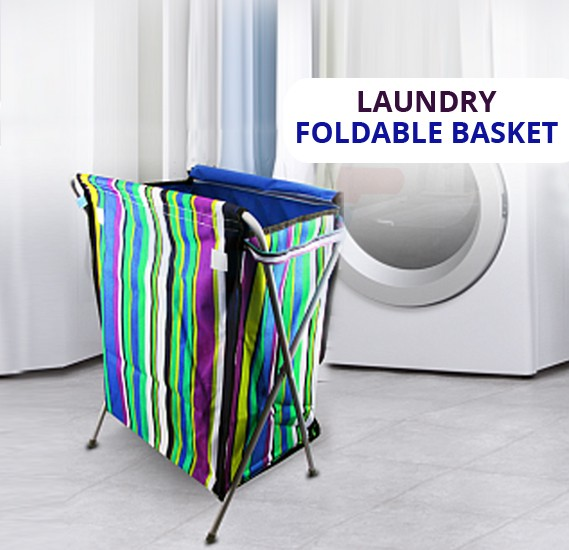 Leostar Cloth Laundry Foldable Basket