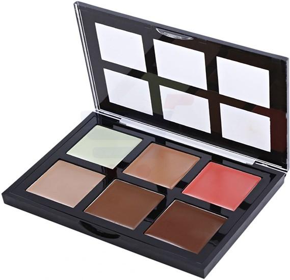 Makeup21 6 Colors Makeup Contour Cream Palette - 3.5 Oz
