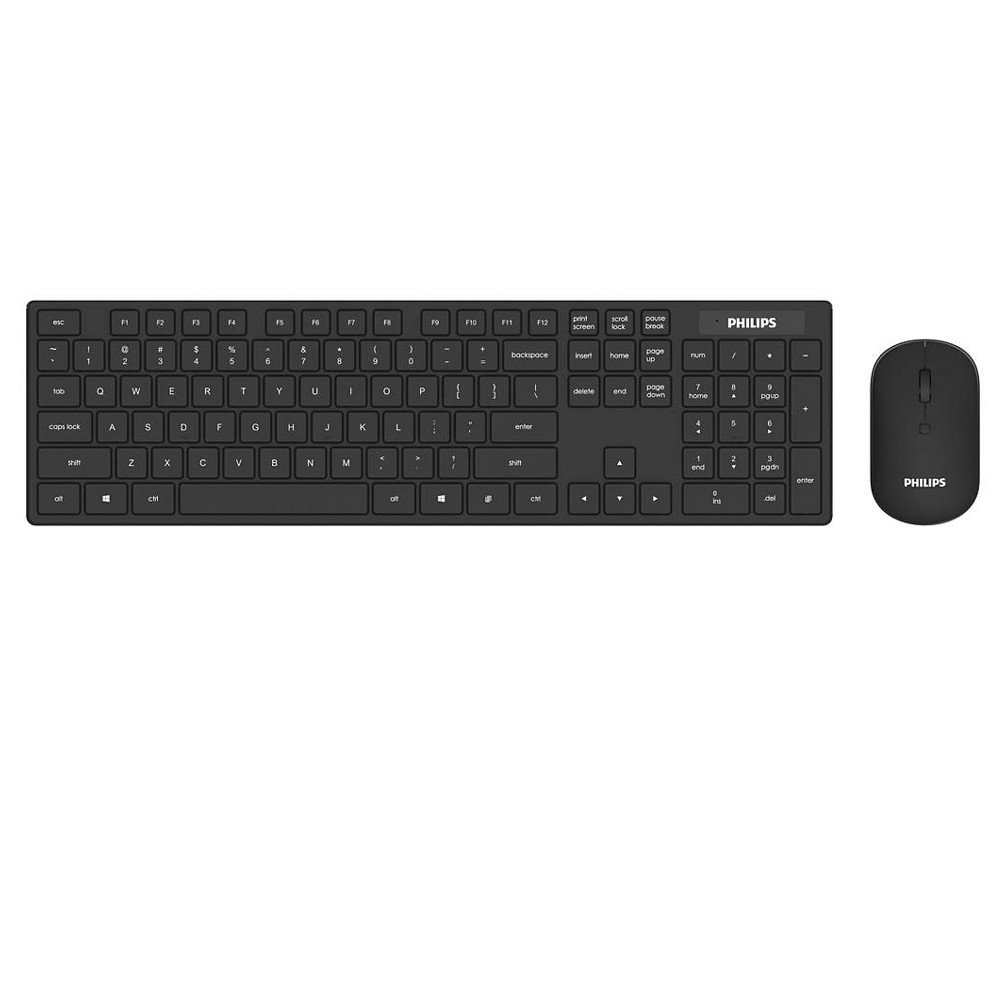 Philips Wireless Keyboard & Mouse Combo C602,