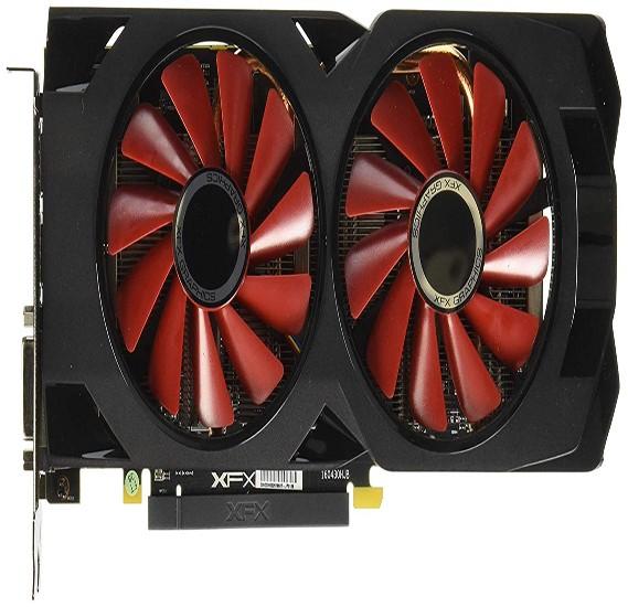 RX-570 P8DFD6 XFX RX570 8GB XXX EDITION 8GB 256bit OC 1284MHz GDDR5  Backplate 3xDP HDMI DVI Dual Bios