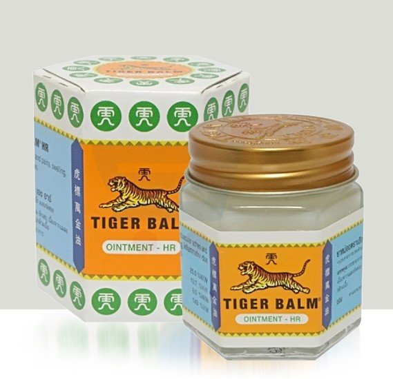 Tiger Balm White 10gm, Pain Relieving Ointment