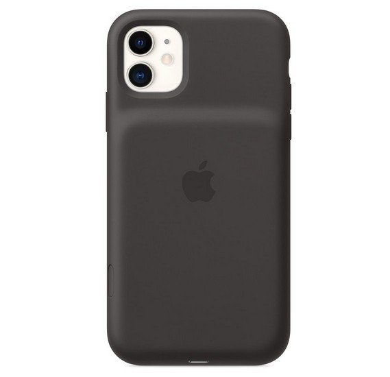 Apple iPhone 11 Smart Battery Case with Wireless Charging - Black